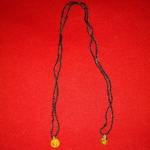 Double End Angel & Virgen Mary necklace